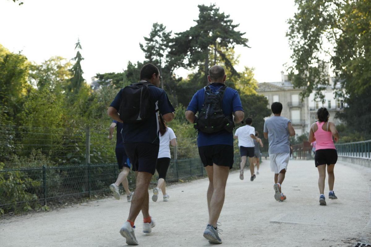 Jogging au Parc Monceau