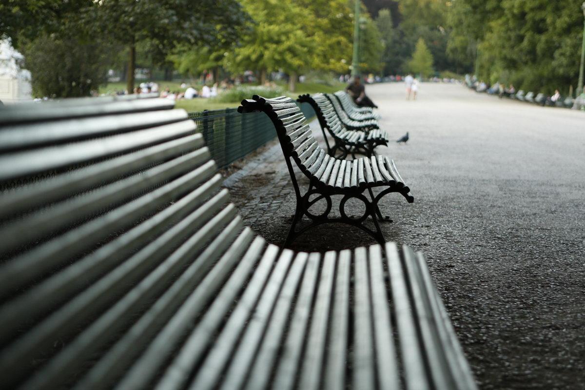 Bancs Parc Monceau