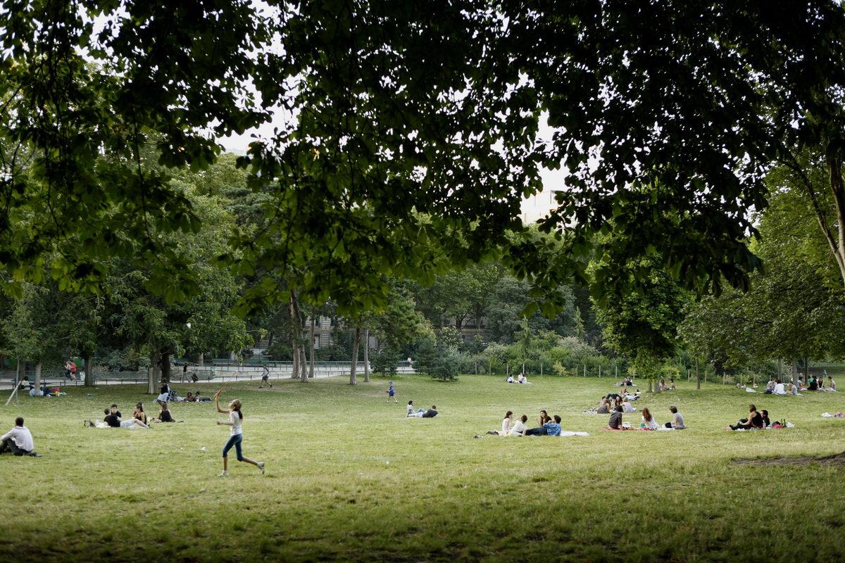 Parc Monceau, Paris, juillet 2012