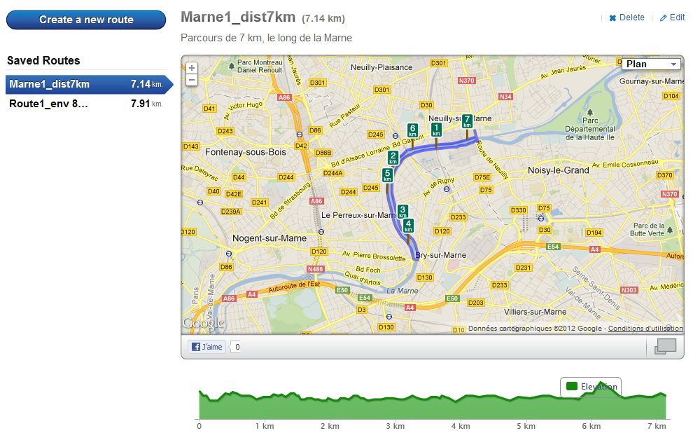 Site RunKeeper_Route created_capture