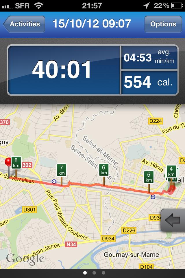 Appli RunKeeper_traceCarte