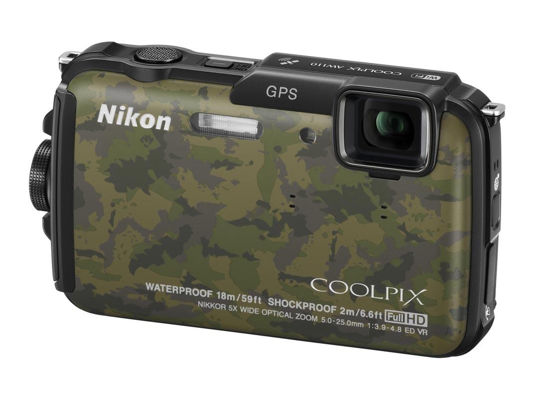 L'appareil photo numérique Nikon Coolpix AW110
