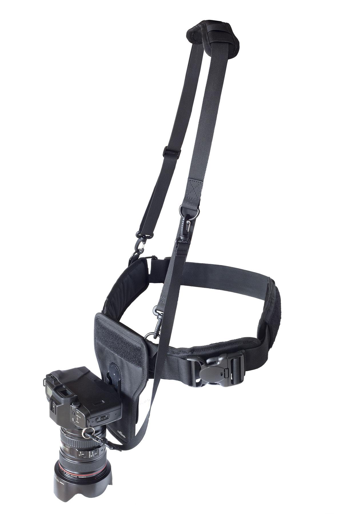 Holster du système Cotton Carrier de portage d'appareil photo en mouvement