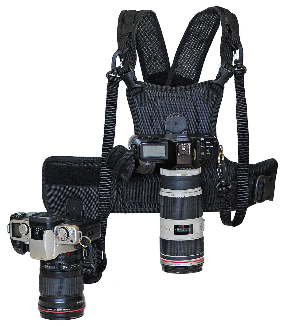 Système Cotton Carrier de portage d'appareil photo en mouvement