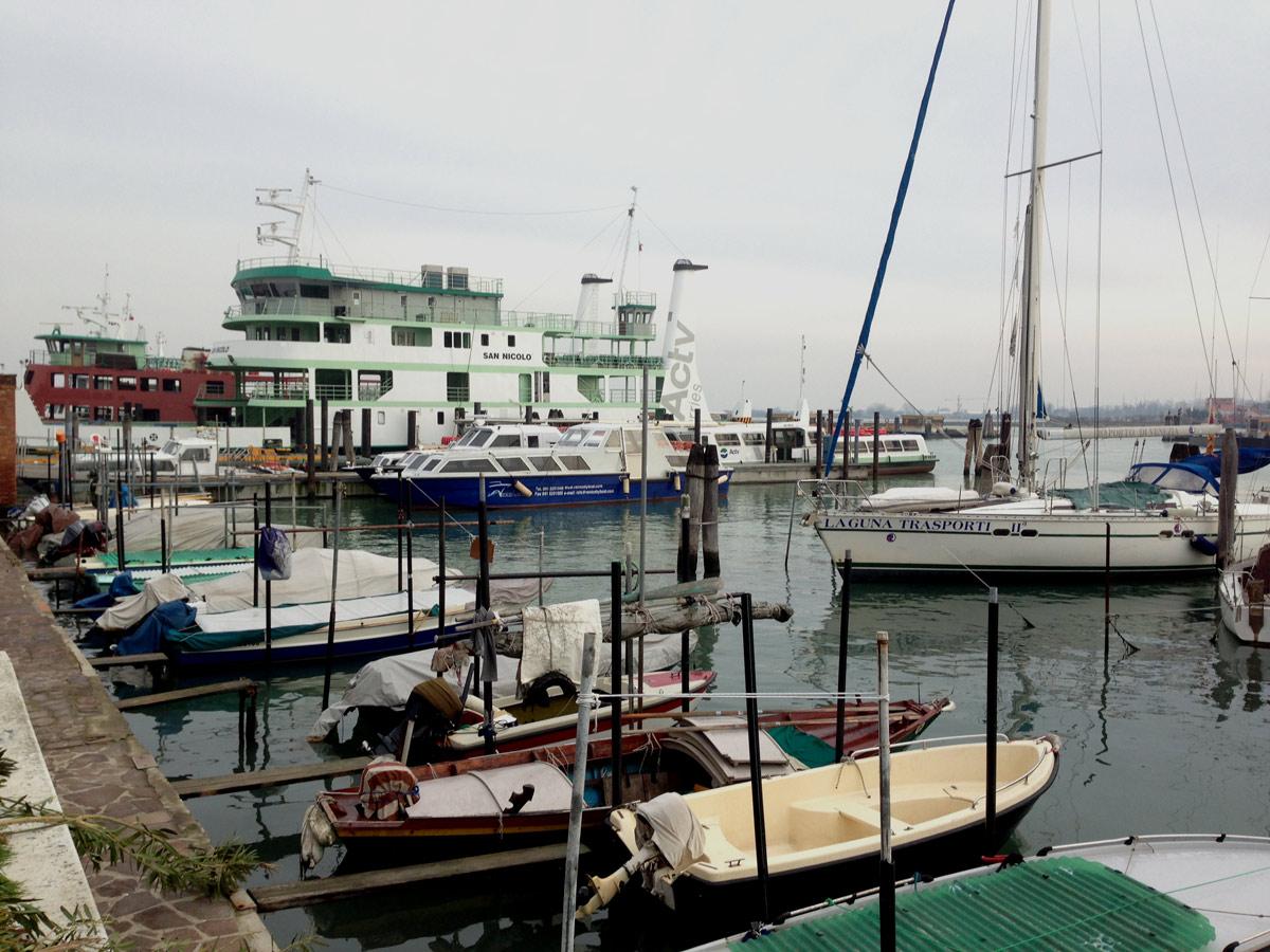 Port à l'est, Venise 20 03 2013. Ph. Moctar KANE.