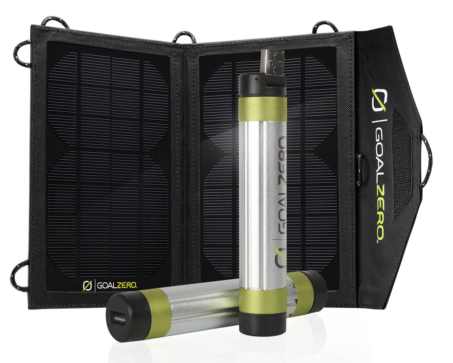 Panneau solaire Goal Zero avec chargeurs Goal Zero Switch 8