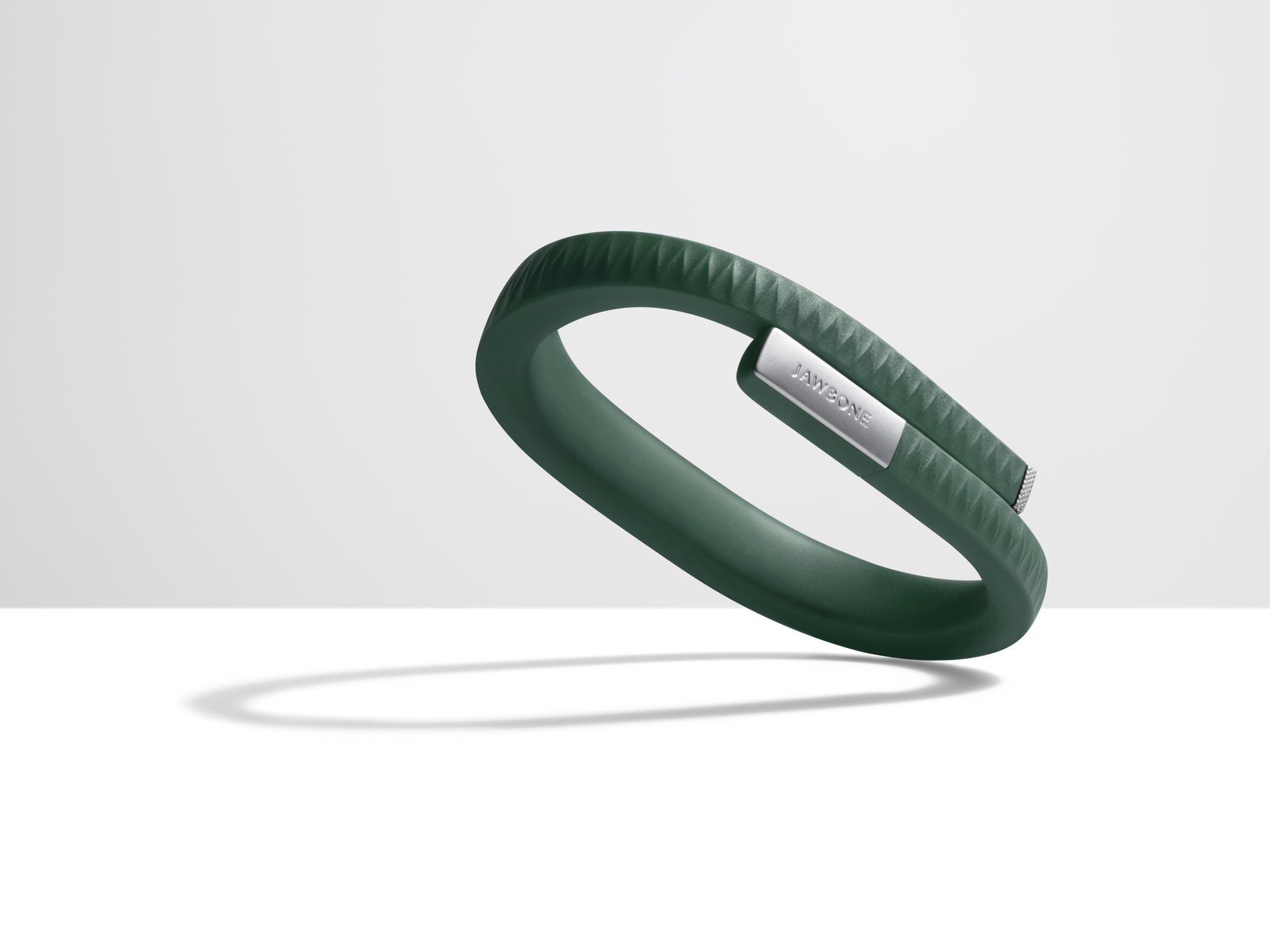 Le bracelet capteur d'activité Jawbone UP.