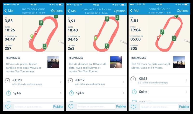 L'appli de sport RunKeeper : test de précision du calcul de la distance.