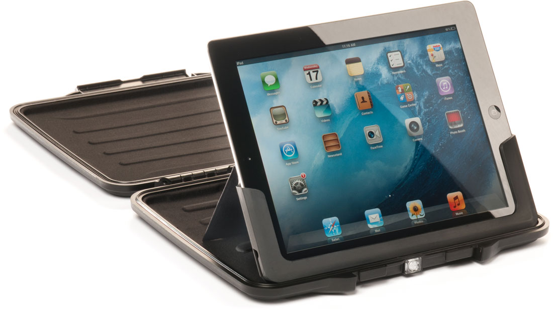 La coque de protection Peli ProGear i1065 pour tablette iPad 2, 3, 4 et Air.