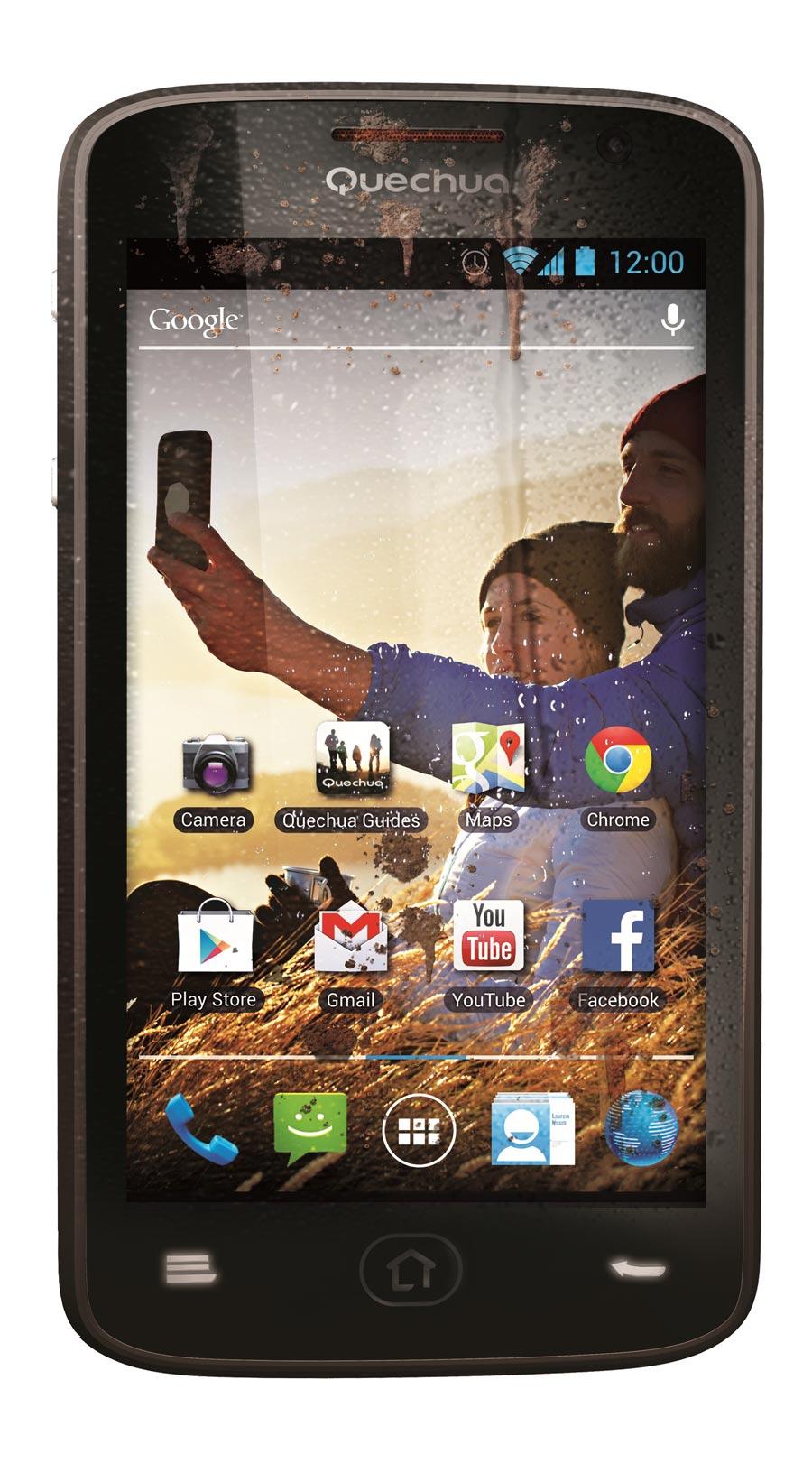 Le smartphone Quechua Phone 5.