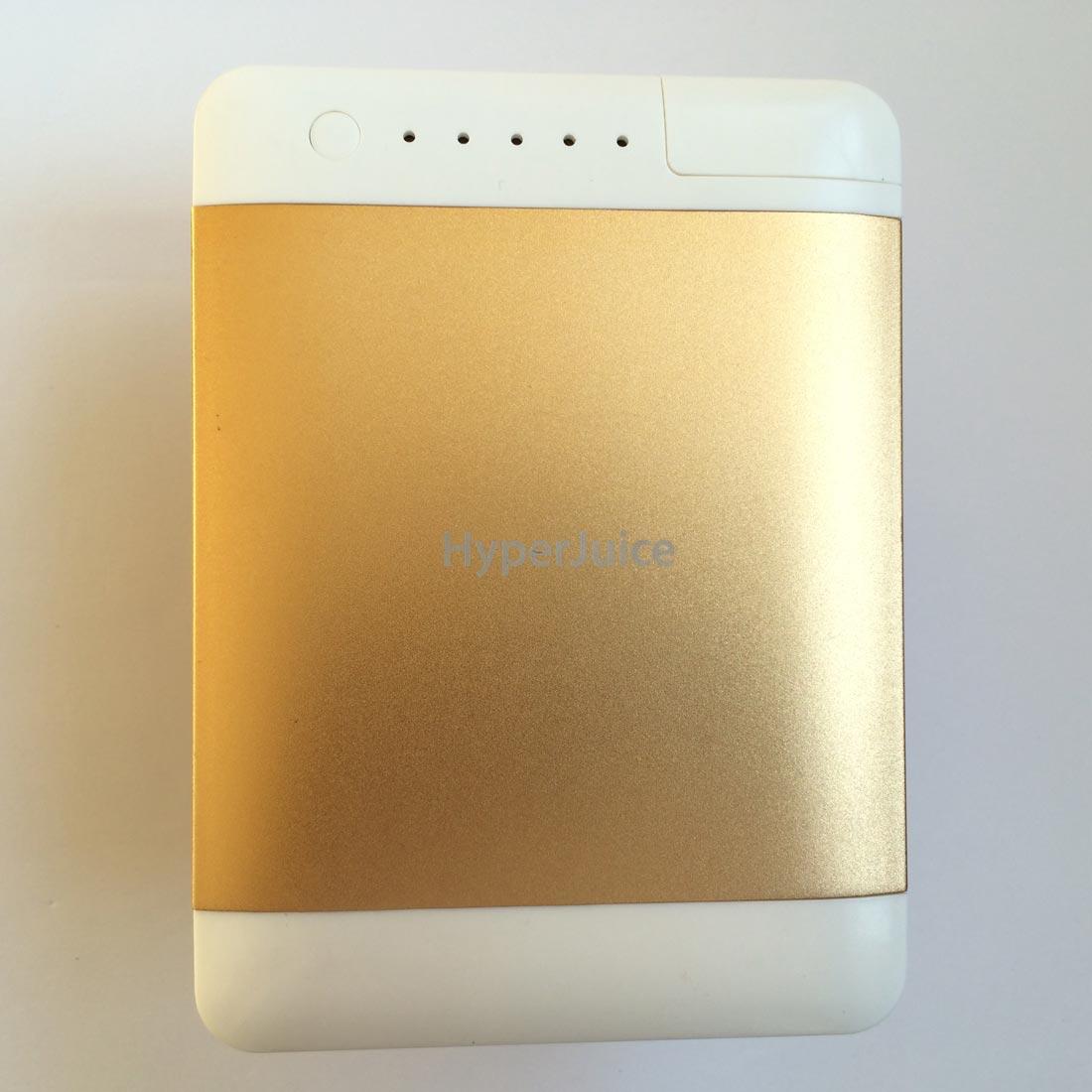 La batterie autonome HyperJuice Plug P10 est proposée en différentes couleurs. Ph. Moctar KANE.