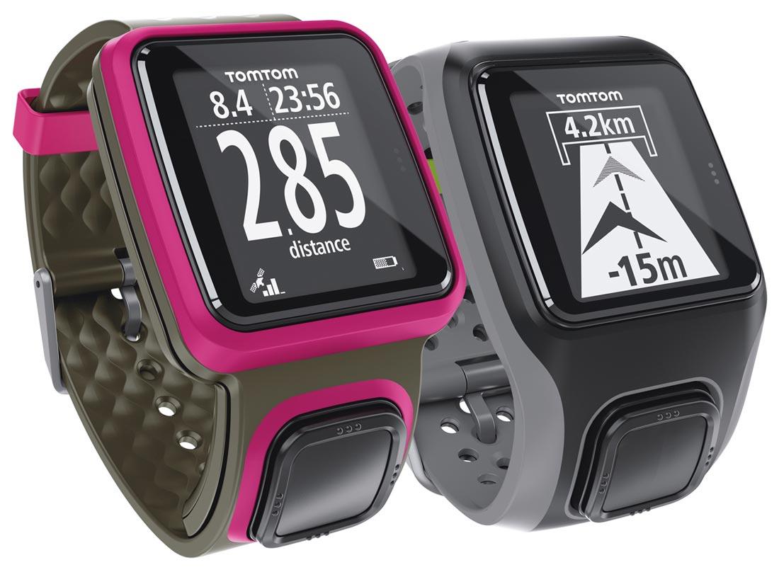 La montre GPS TomTom Runner.