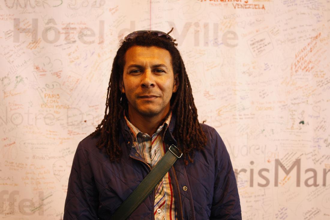 Marathon de Paris 2014 : Wilfrid. Ph. Moctar KANE.