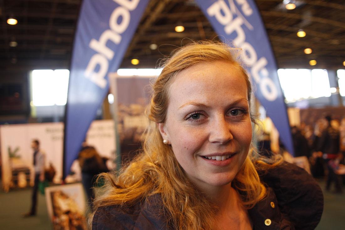 Marathon de Paris 2014 : Åsne. Ph. Moctar KANE.