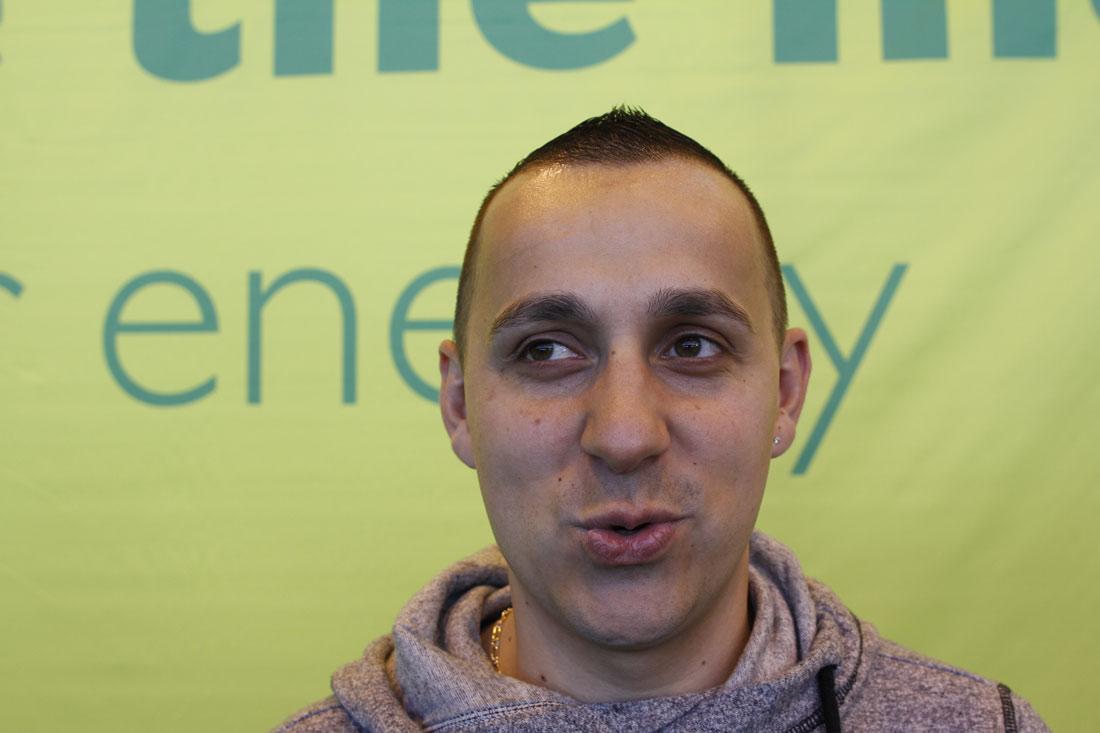 Marathon de Paris 2014 : Aurélien. Ph. Moctar KANE.