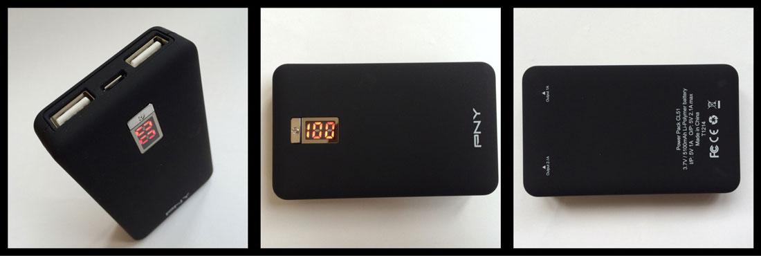 La batterie autonome PNY PowerPack CL51. Ph. Moctar KANE.