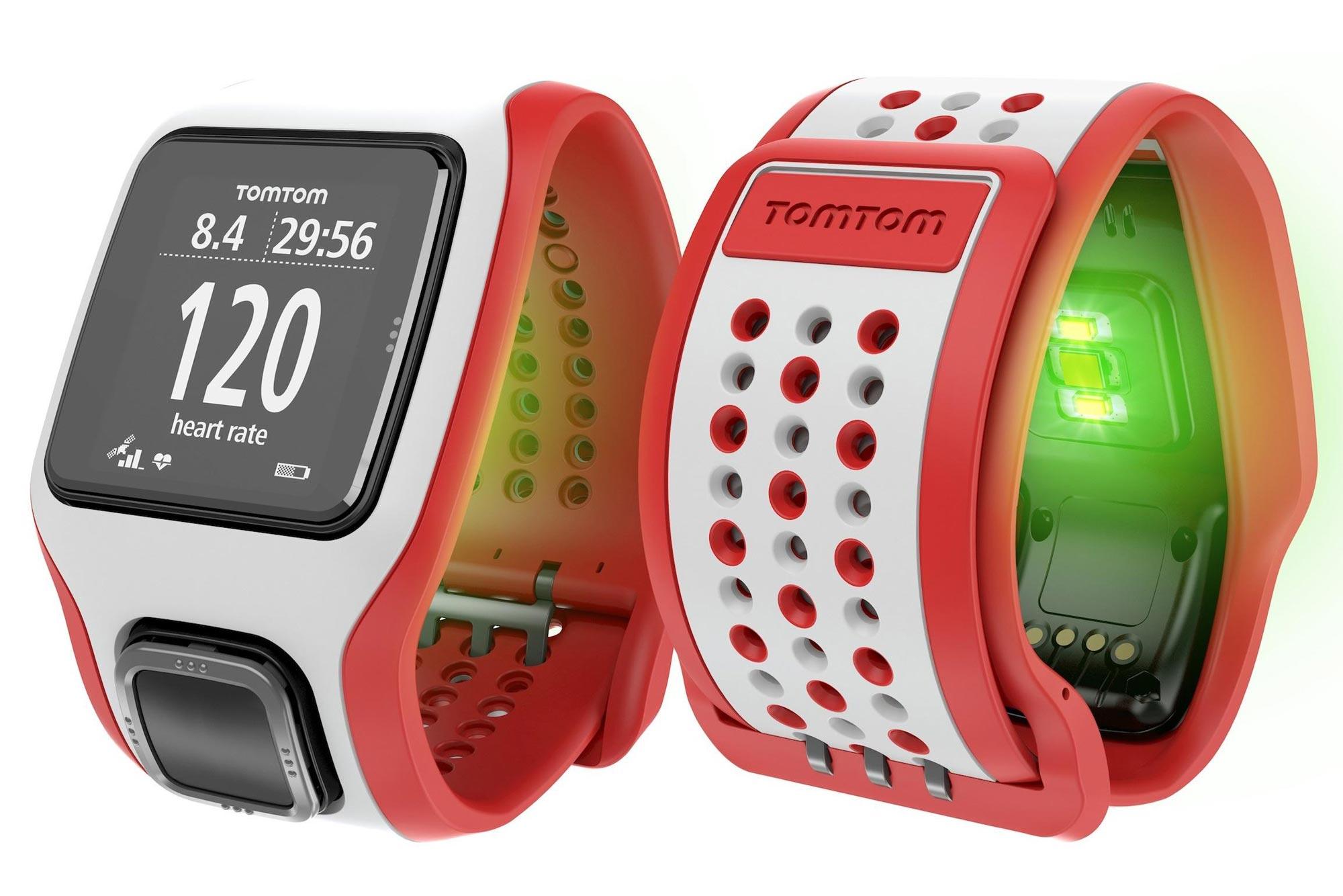 La montre GPS TomTom Multi-sport Cardio.
