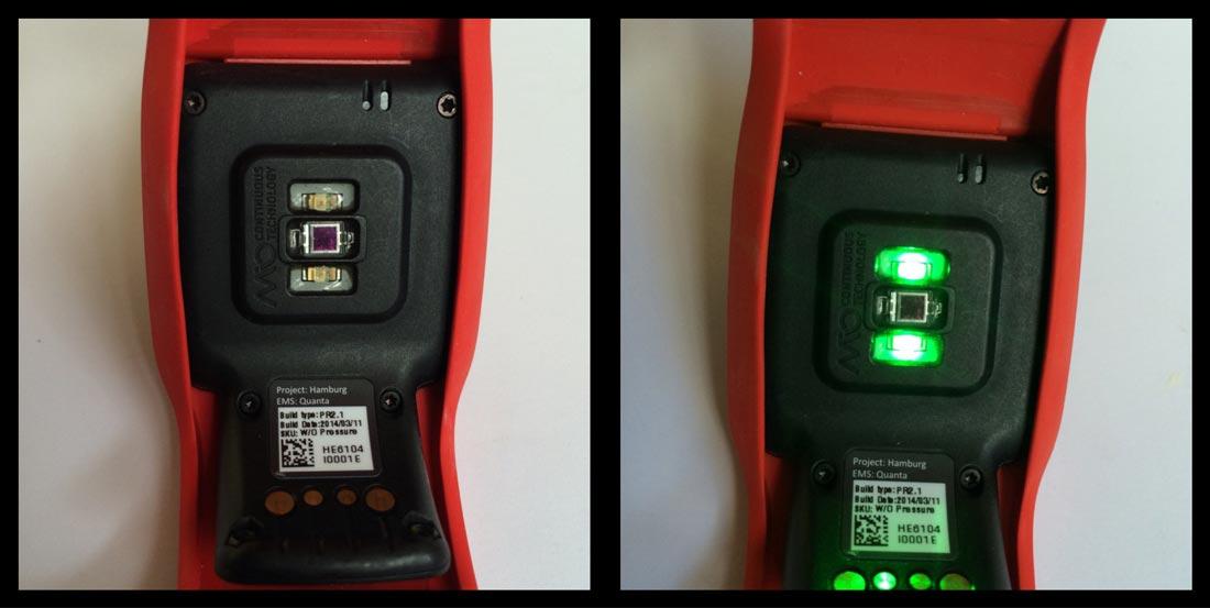 La TomTom Multi-sport Cardio : le capteur cardio-fréquencemètre , Ph Moctar KANE.