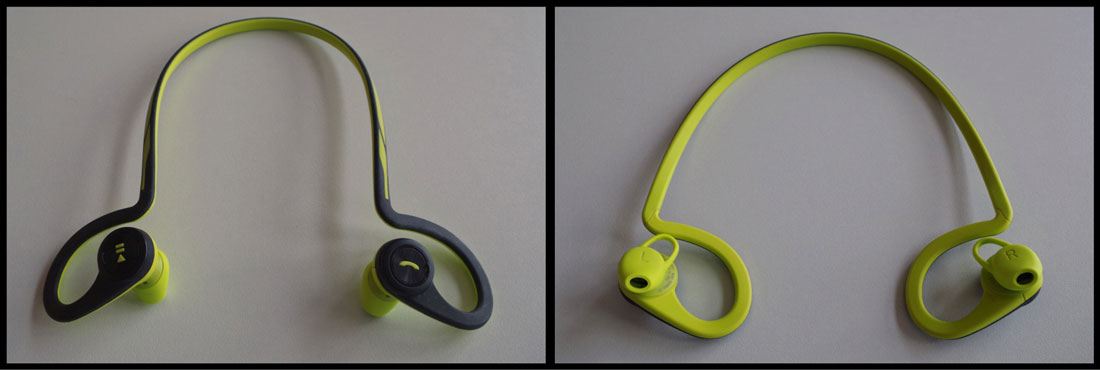 Ecouteurs intras de sport Bluetooth Plantronics BackBeat FIT, Ph. Moctar KANE.