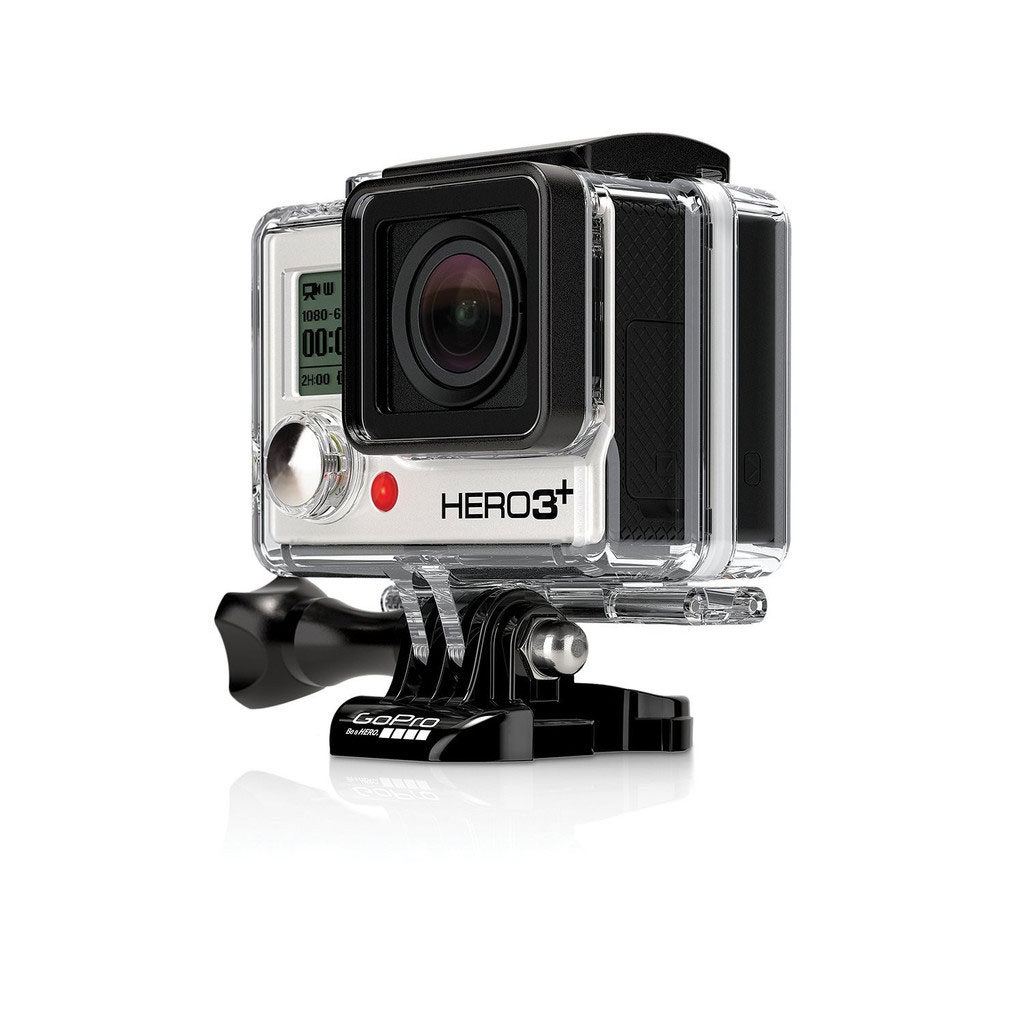L'action cam GoPro Hero3+ Black Edition