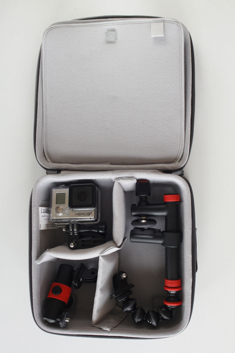 test lowepro dashpoint avc 2 une malette de protection pour la gopro et ses accessoires high. Black Bedroom Furniture Sets. Home Design Ideas