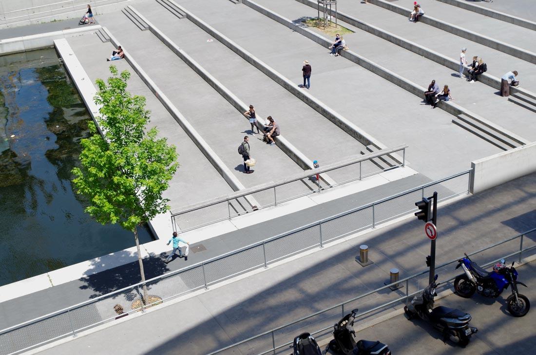Test terrain Pentax K-50 : la Place Nautique, quartier La Confluence, Lyon, 2014, Ph. Moctar KANE.