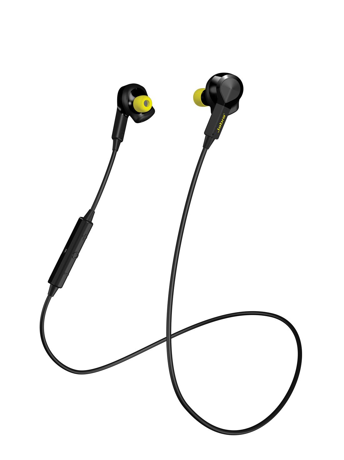 Les écouteurs intra et cardio-fréquencemètre Jabra Sport Pulse Wireless.