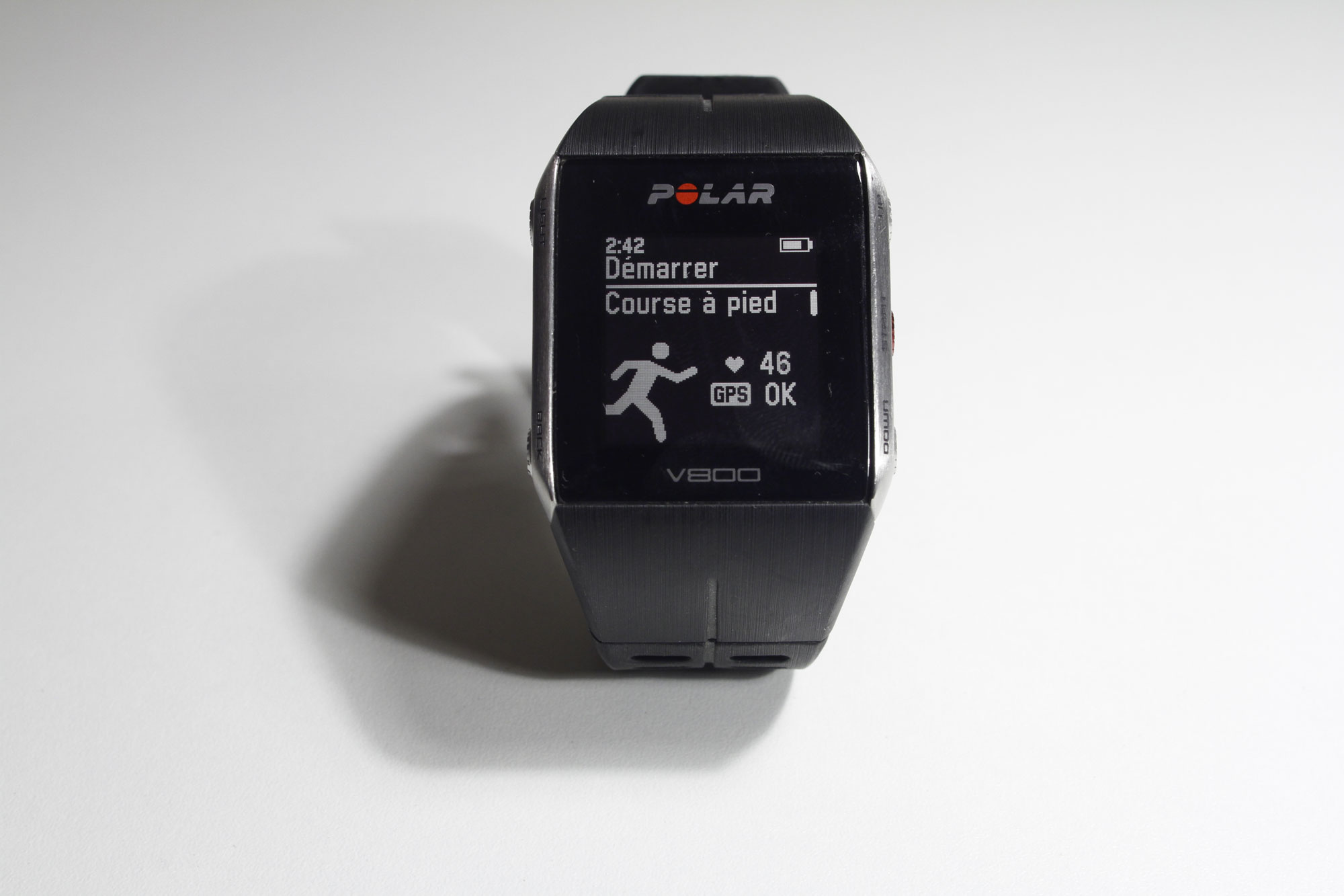La montre de sport Polar V800, Ph. Moctar KANE.