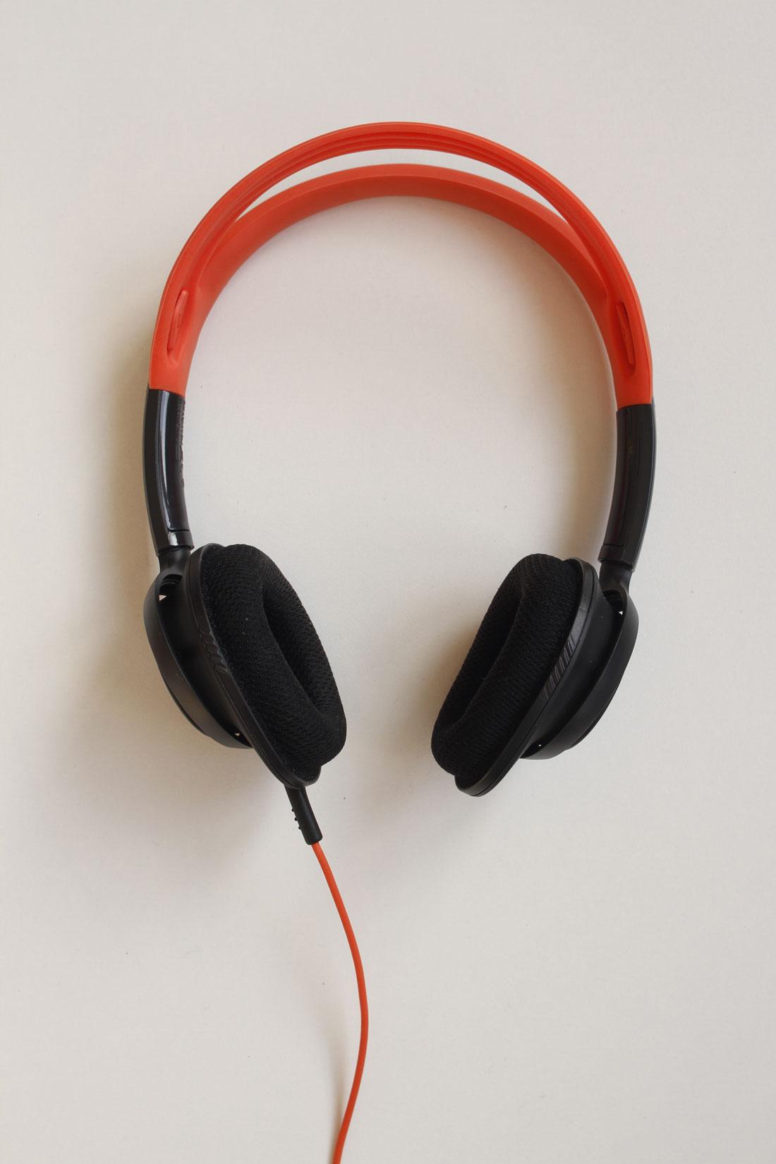 Le casque de sport Philips ActionFit SHQ5200, Ph. Moctar KANE.