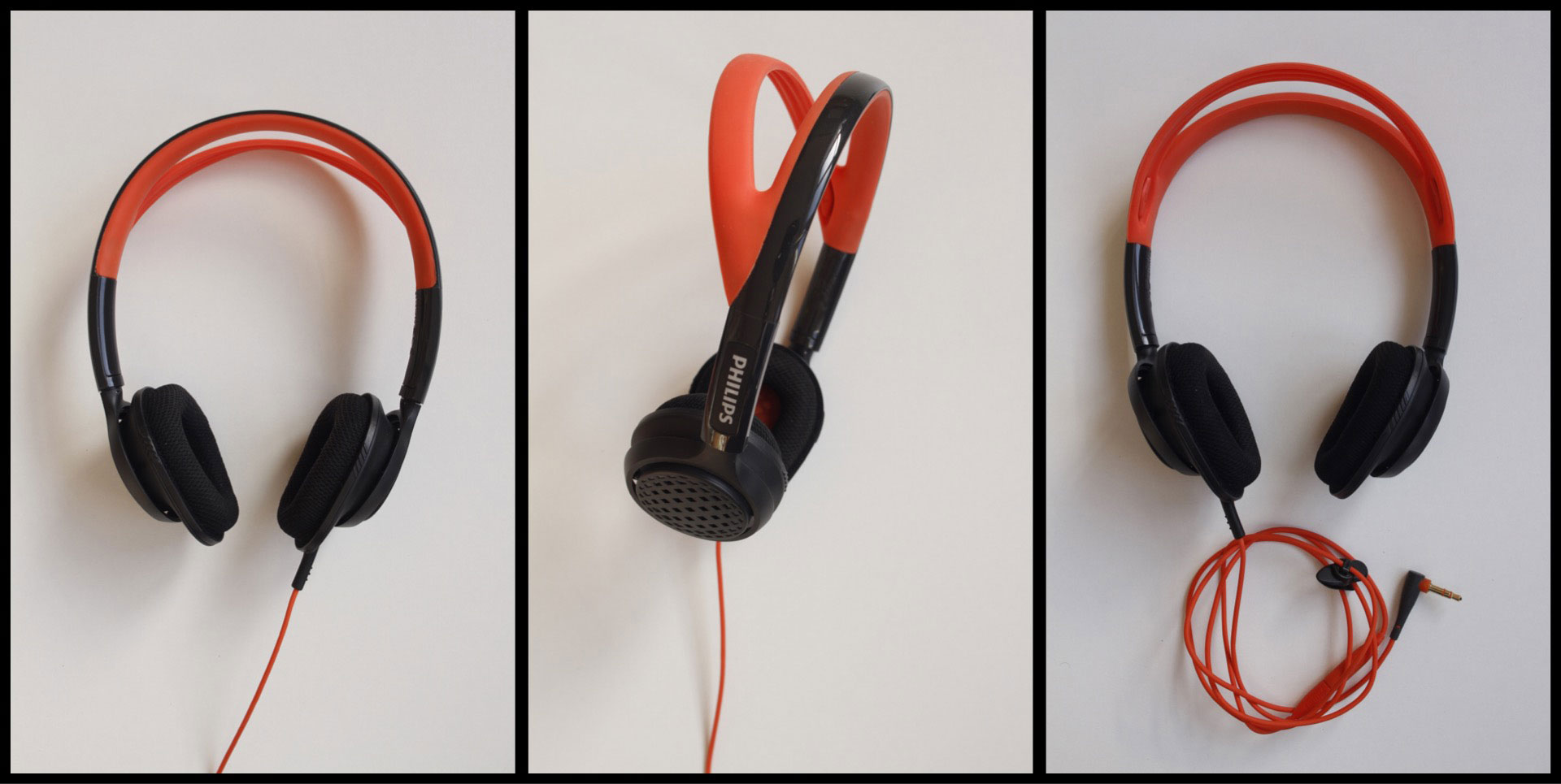 Le casque de sport Philips ActionFit SHQ5200, Ph. Moctar KANE.