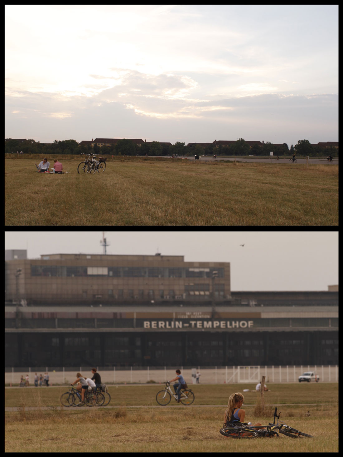 Tempelhofer Park, ancien aéroport, Berlin 2014, Ph. Moctar KANE.