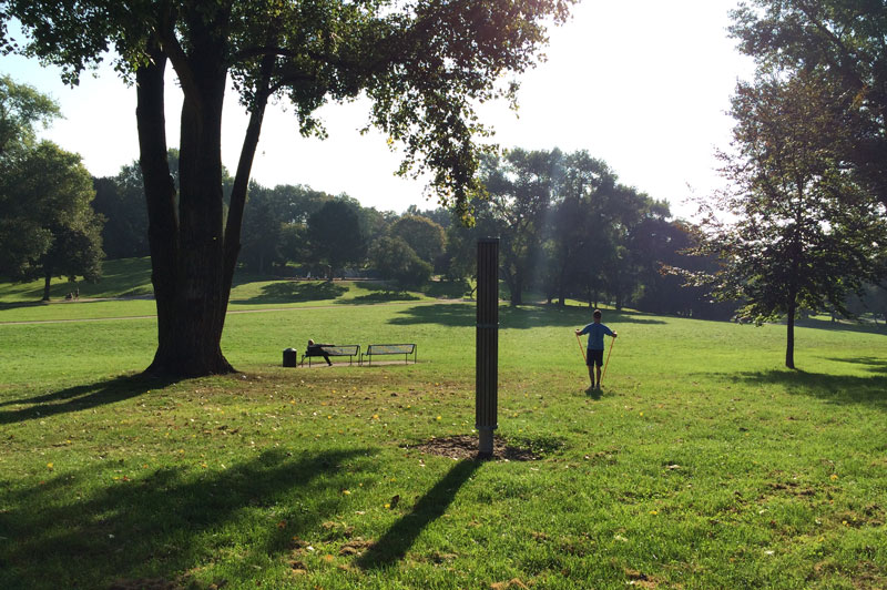 Le Hiroshima-Nagasaki Park, Cologne, 2014. Ph. Moctar KANE.
