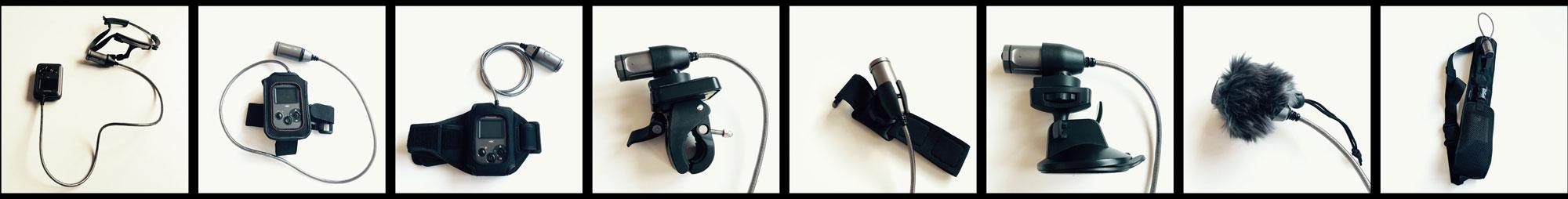Accessoires compatibles et action cam Panasonic HX-A500, 12 2014. Ph. Moctar KANE.