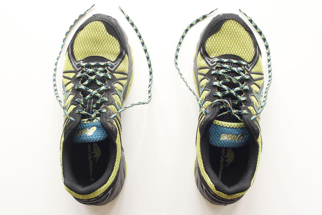 Les chaussures de trail Asics Gel Fuji Trabuco 3, Ph. Moctar KANE.