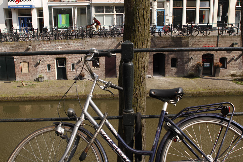 Le fleuve Vecht, Utrecht, 2014. Ph. Moctar KANE.