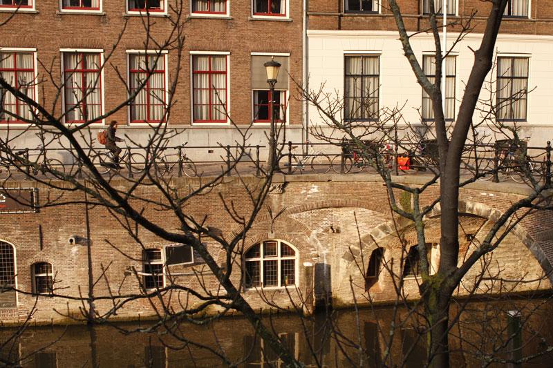 Utrecht, 2014. Ph. Moctar KANE. Le fleuve Vecht.