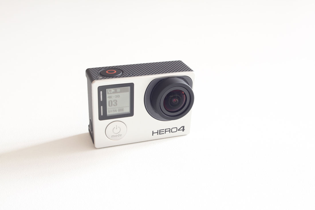 La caméra d'action GoPro Hero4 Black, 2015, Ph. Moctar KANE.
