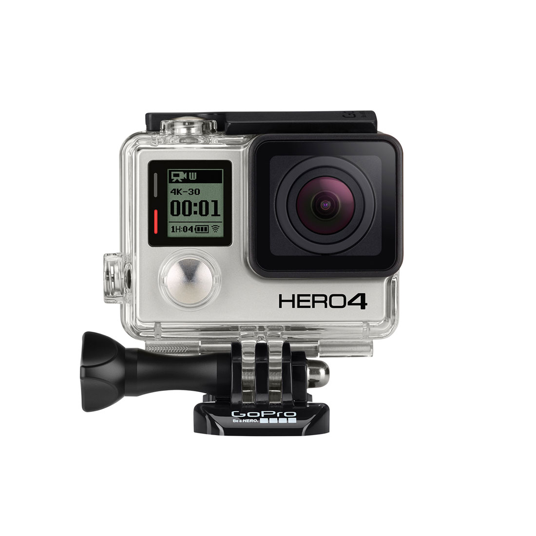 La caméra d'action GoPro Hero4 Black.