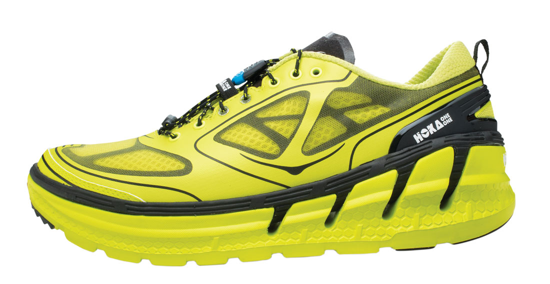 Chaussure de running Hoka One One Conquest.