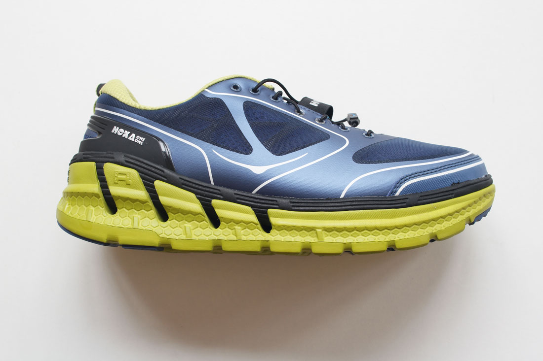 Chaussure de running Hoka One One Conquest, 2015 Ph Moctar KANE.