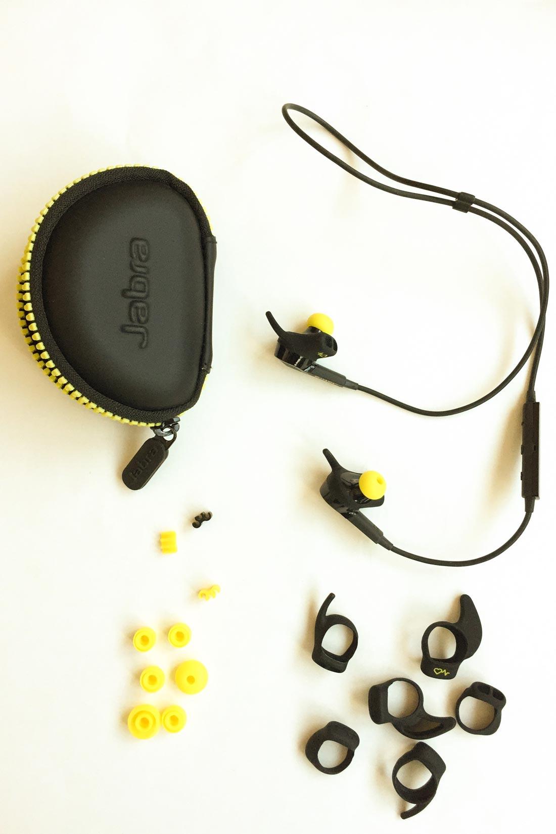 Écouteurs intras et cardio-fréquencemètre Jabra Sport Pulse Wireless, Ph. Moctar KANE.