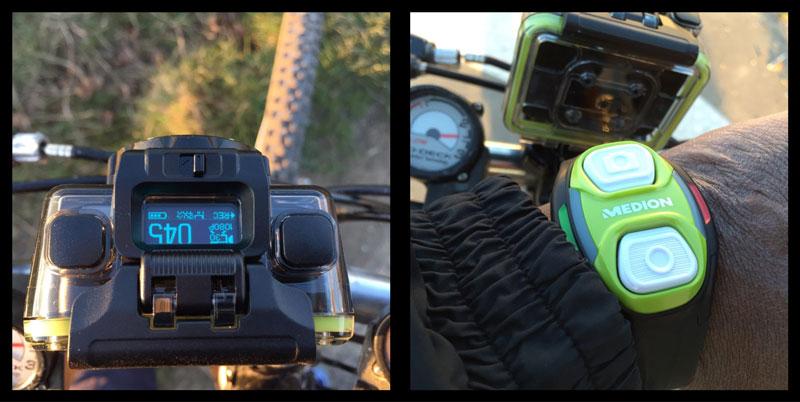 L'action cam Medion Life S47018 et sa télécommande Wifi testées à vélo, 2015, Ph. Moctar KANE.
