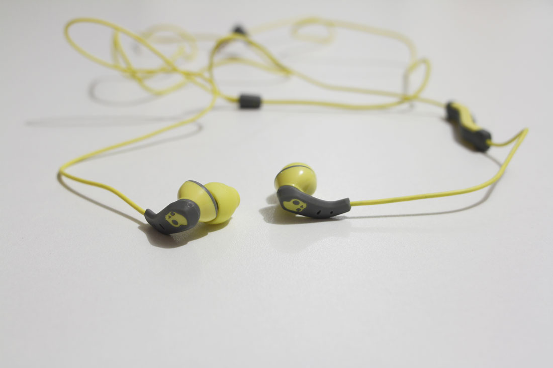 Écouteurs intras de sport Skullcandy Method, 2015, Ph. Moctar KANE.