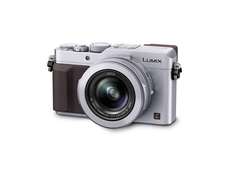 L'appareil photo numérique Panasonic Lumix DMC-LX100.