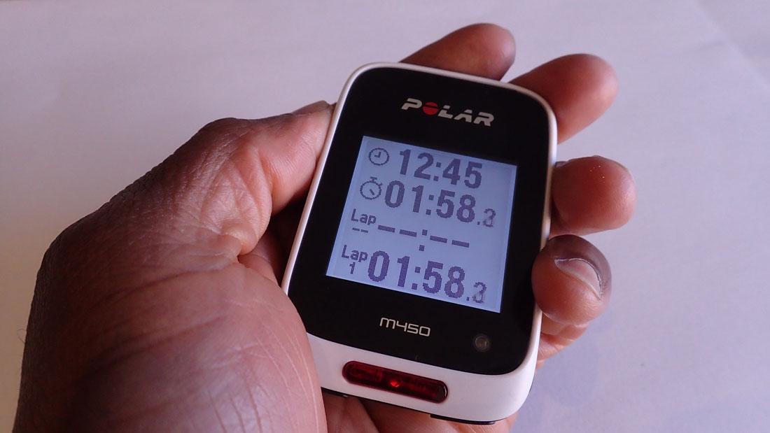 Le GPS vélo Polar M450, 06 2015, Ph. Moctar KANE.