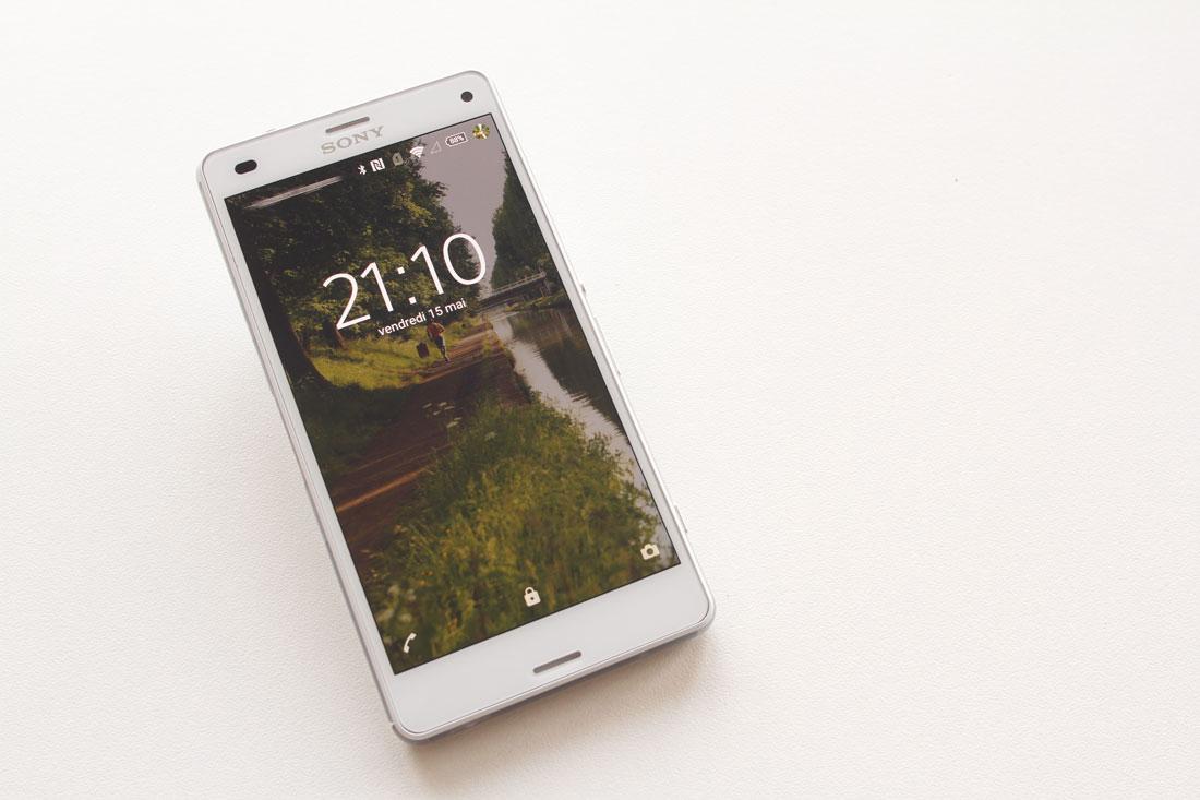 Smartphone étanche Sony Xperia Z3, 2015, Ph. Moctar KANE.