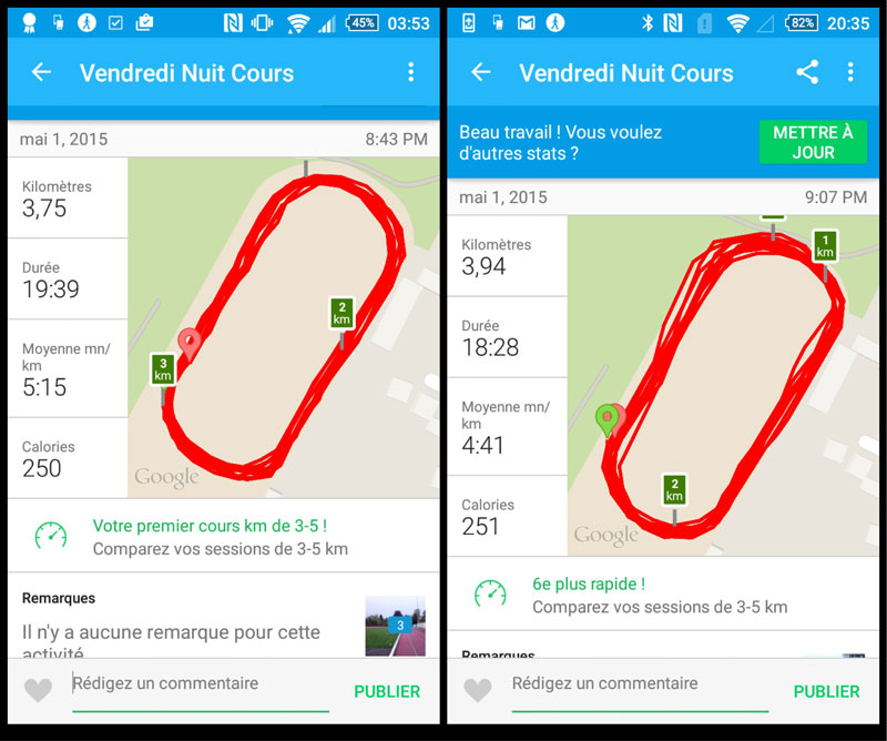 Le smartphone Sony Xperia Z3, pratique pour le running.