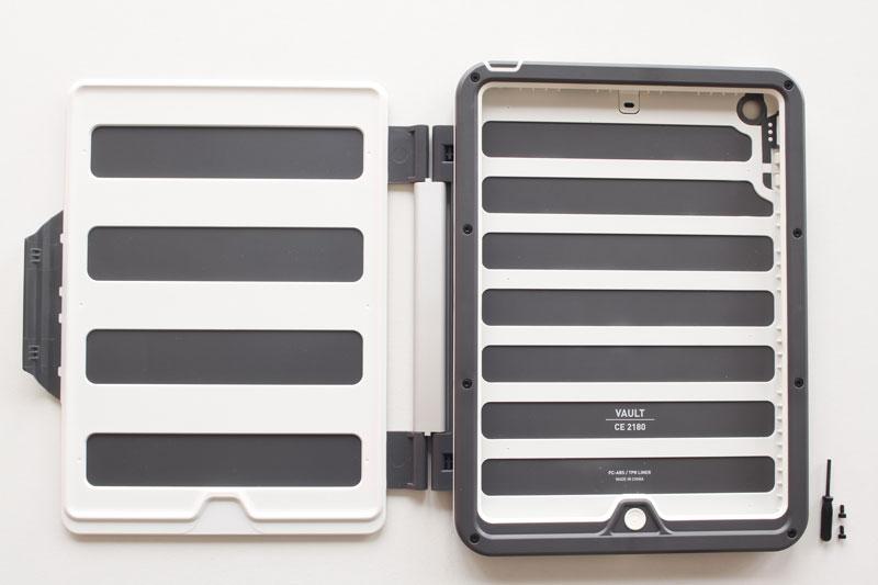 Coque de protection Peli ProGear Vault : modèle pour iPad Air, Ph. Moctar KANE.