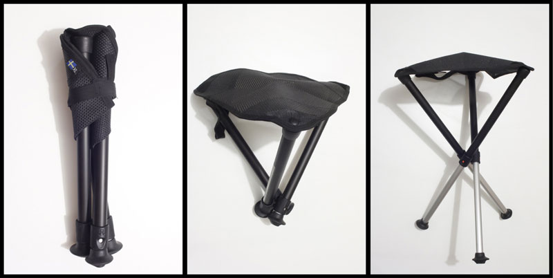 Le siège trépied Walkstool Comfort 55 cm, 2015, Ph. Moctar KANE.