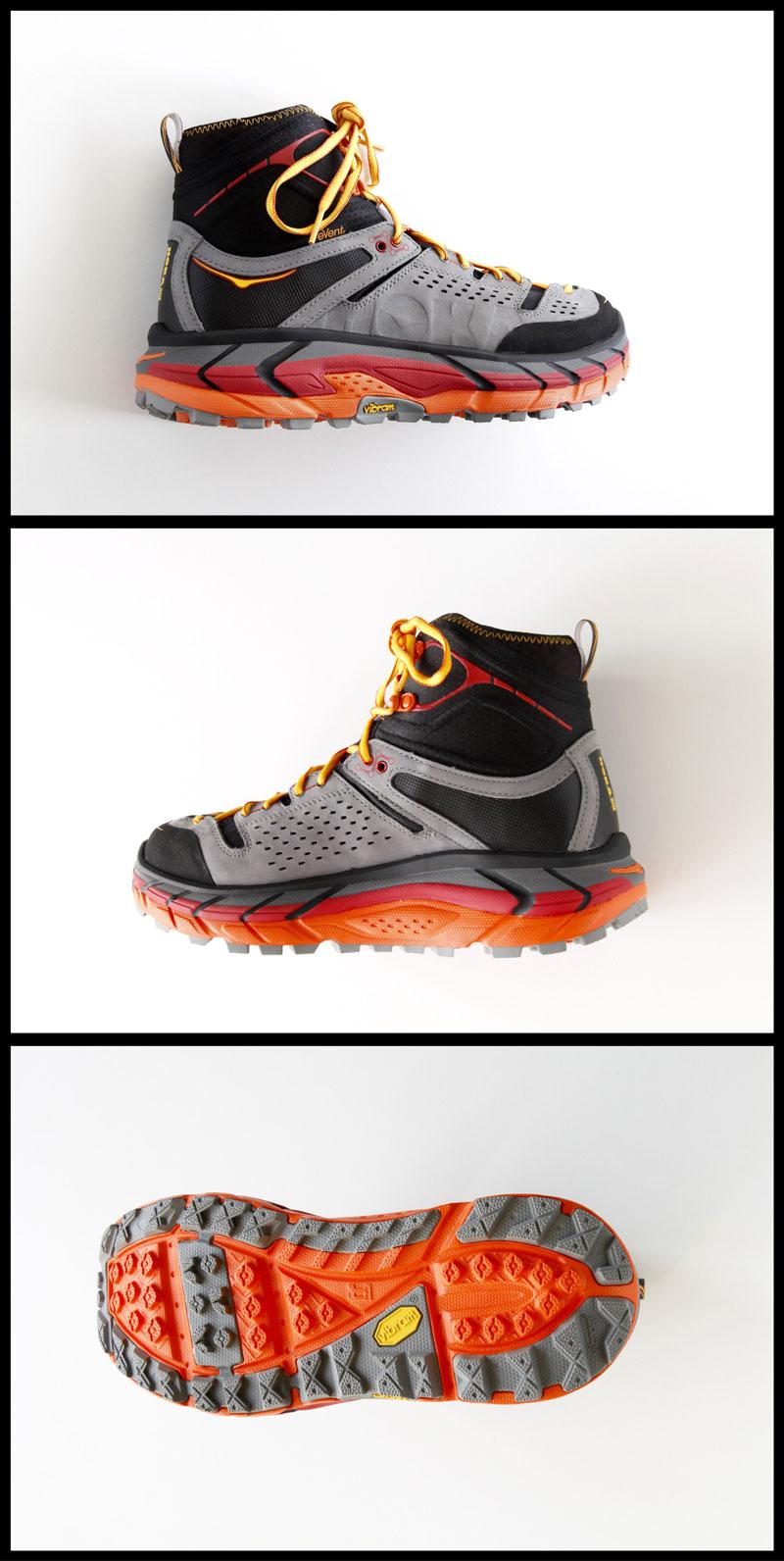La chaussure de randonnée Hoka One One Tor Ultra HI WP, Ph. Moctar KANE.